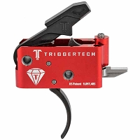 TriggerTech AR-15 Diamond Competition Curved Trigger - Black