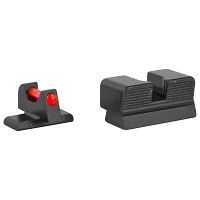 Trijicon Sights for FN 509 Red Fiber Front & Serrated Back