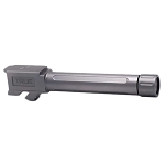 True Precision Glock 19 Threaded Barrel in Stainless Steel