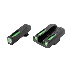 Truglo Glock 42/43 New TFX Tritium/Fiber Optic Day/Night Sights