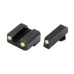 Truglo Tritium Glock 42 and 43 Night Sight Set in Green
