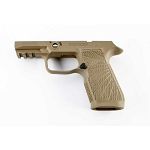 WC320 Sig P320 Carry II Tan Grip Module 9/40/357 Upgraded Grip Mod