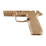 WC320 Sig P320 Carry Size Tan M17 Manual Safety Grip Module