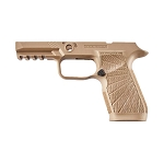 WC320 Sig P320 Carry Tan Grip Module 9/40/357 Upgraded Grip Mod
