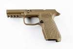 WC320 Sig P320 Compact Tan Upgraded Grip Module