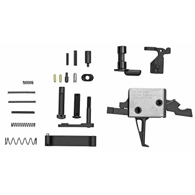CMC Triggers Lower Parts Kit with 3.5lb Flat Drop-In Trigger