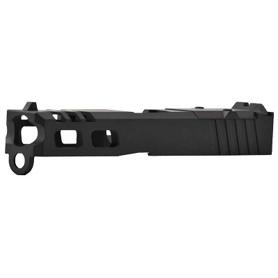 SG Arms Black Aftermarket Glock 19 RMR Slide Ported Stripped