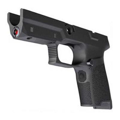 Sig P320 Lima5 Red Laser Compact Medium Grip Module in Black