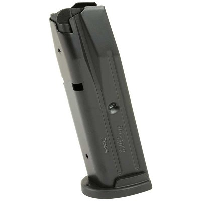 Sig Sauer P250, P320 Full Size 10RD 9mm Magazine Black Steel