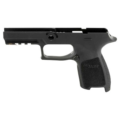 Sig P320 Compact .45 ACP Small Black Grip Module Assembly